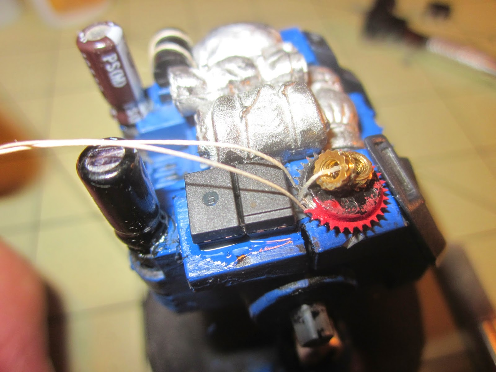 Warhammer 40k Dreadnought Conversion
