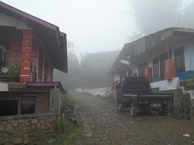 start awal pendakian gunung prahu kenjuran