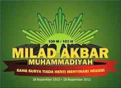 MILAD MUHAMMADIYAH 100 M/103 H