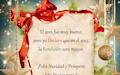 Buenos deseos de Navidad en postal navideña para compartir - Imágenes para el Fin de Año