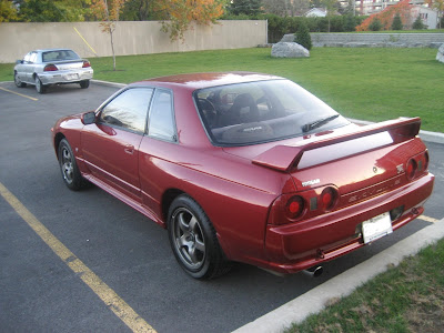 Real Nissan Skyline GTR BNR32 rear bumper