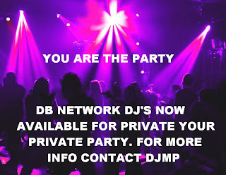 DON'T MAKE THE MISTAKE OF USING YOUR HOUSE STEREO AND A C.D. HIRE A DB NETWORK DJ... RIGHT NOW