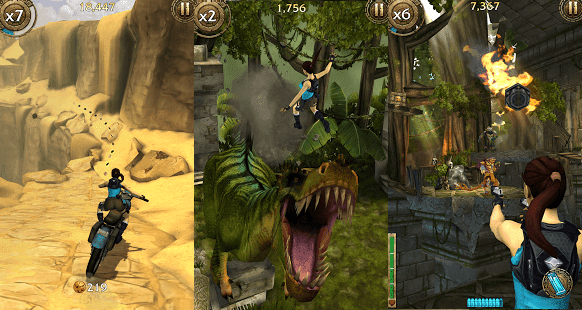 Lara Croft Relic Run mod apk data