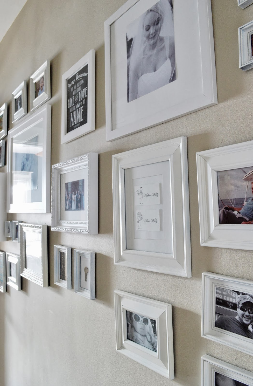 724 South House: What\'s In a Frame....