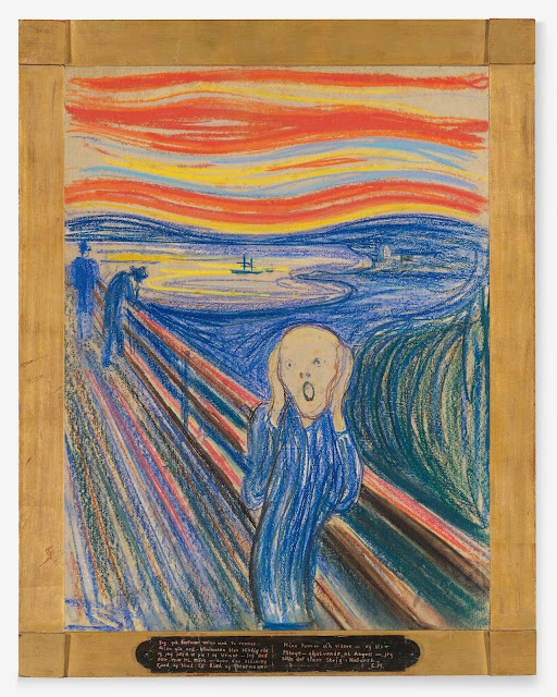 Edvard Munch famous painting The Scream to be shown at the MoMA