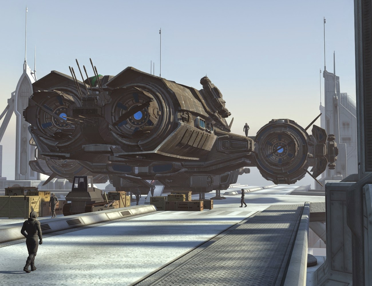UEF Arachnid Class Escort Destroyer