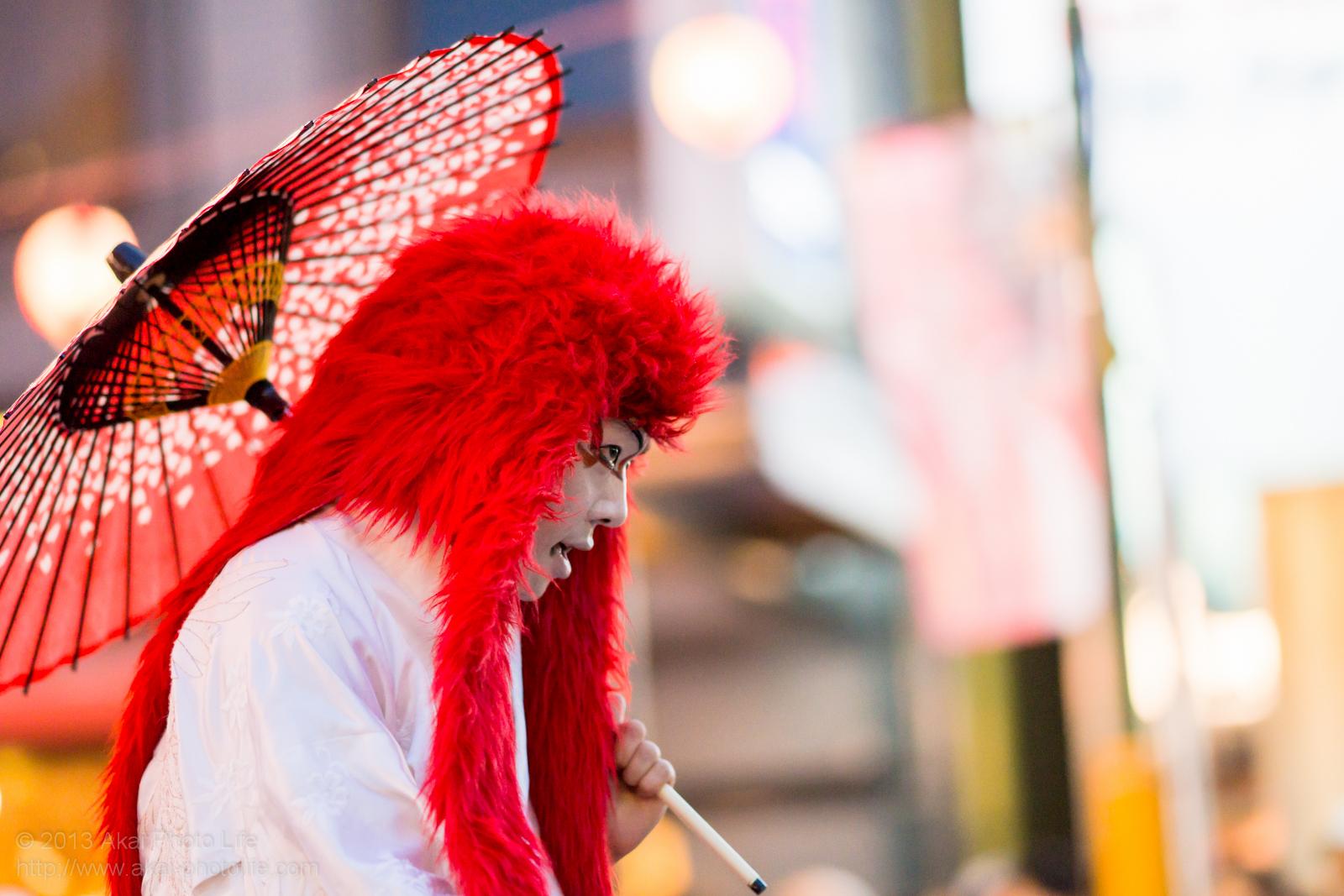 踊れ西八夏まつり、初台連の赤獅子