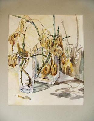 акварель, картины,  пейзажи,  натюрморты