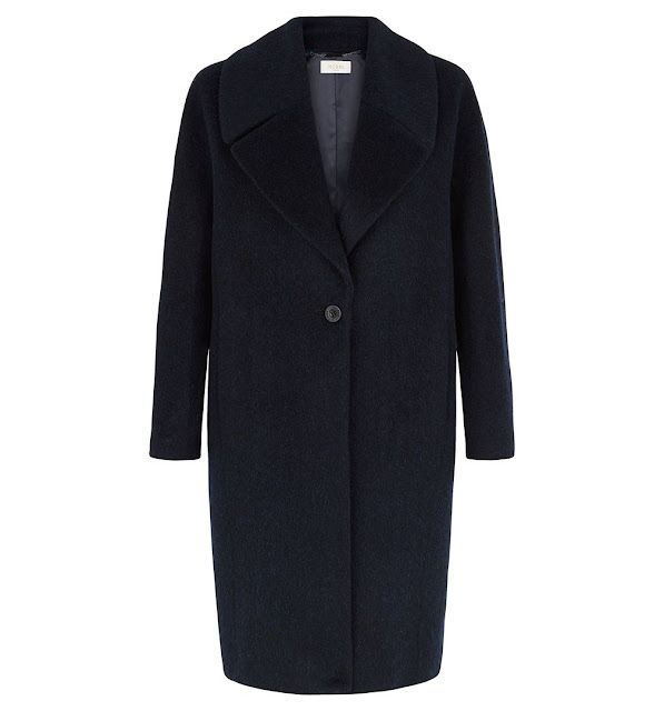 hobbs navy black coat