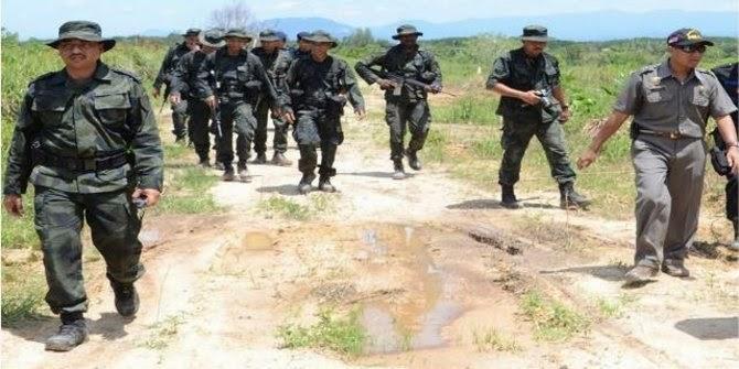 Buru penjahat, 14 anggota Polri dan TNI ditahan otoritas Malaysia