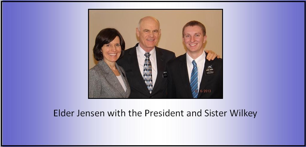 March 6, 2013 - Mission President