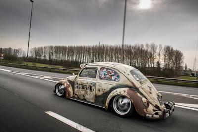 Fusca Rat Rod - Hoodride