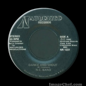 N.C. BAND - Dance And Shout