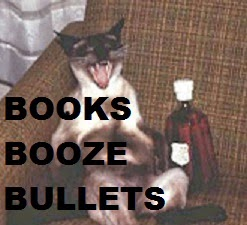 SPYGOD'S Books, Booze, and Bullets