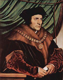 Thomas More (1527), de Hans Holbein el Joven.