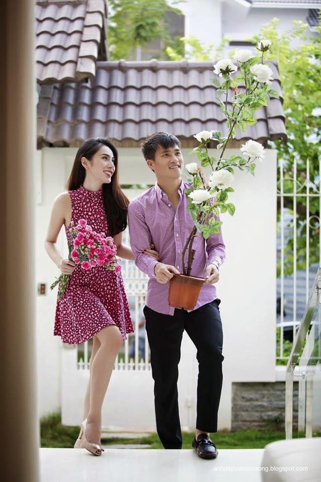 Cặp đôi hoàn hảo: Công Vinh & Thủy Tiên 4
