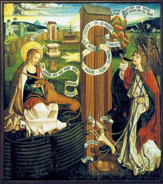 Louis Charbonneau-Lassay - L'Iconographie emblématique de Jésus-Christ. La Licorne - Le Rhinocéros