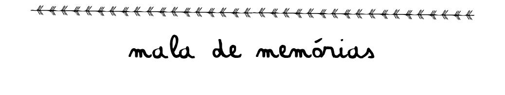 Mala de Memórias | Isadora Mello