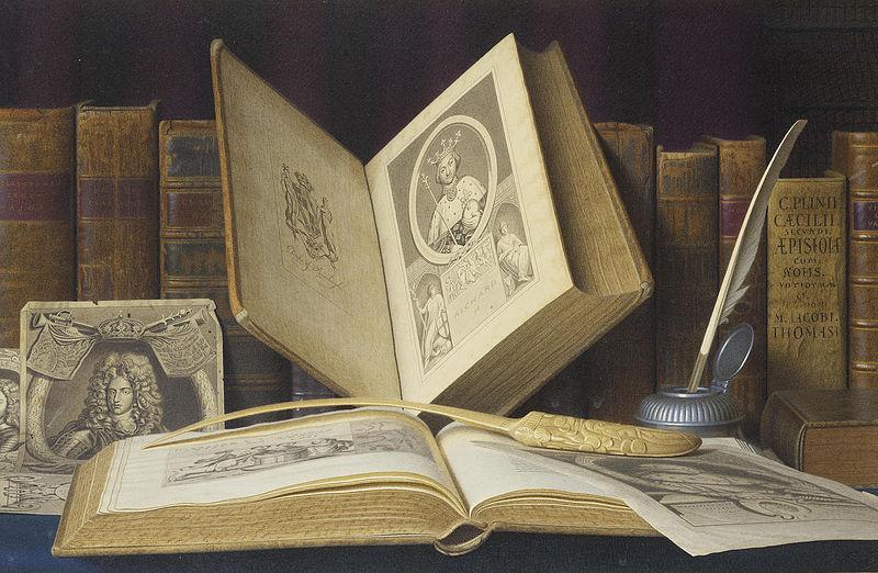 Laudator Temporis Acti: Books in Art, III
