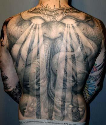 Monster 3d Tattoos