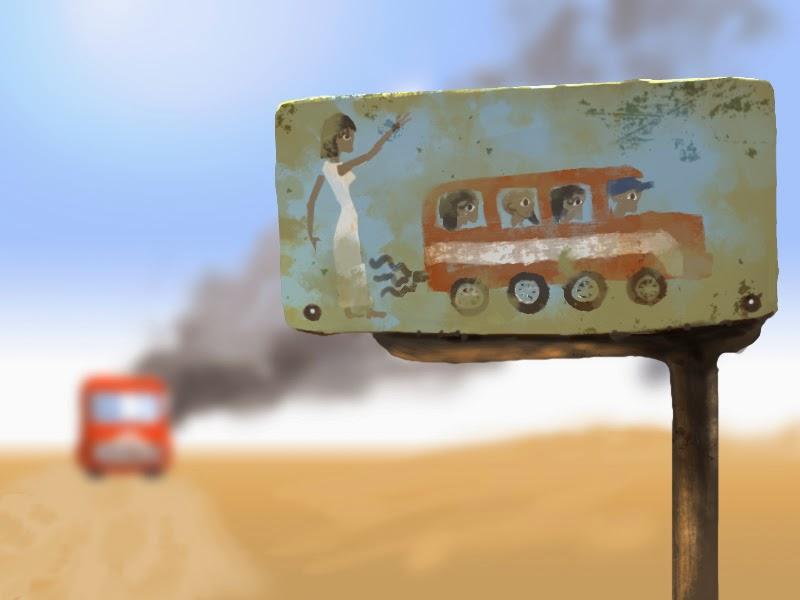 DSG 1678: Egyptian Bus Stop