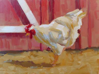 No. 349 - Barnyard Hen (2015)