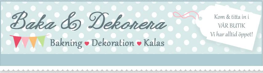 Baka & Dekorera