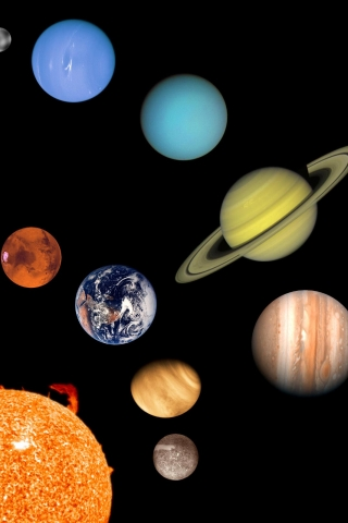 for solar system iphone wallpaper - photo #22