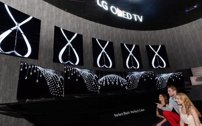 Destaque da maior feira de eletrônicos do mundo TVs OLED com resolução 4K da LG chamaram atenção pela qualidade de imagem
