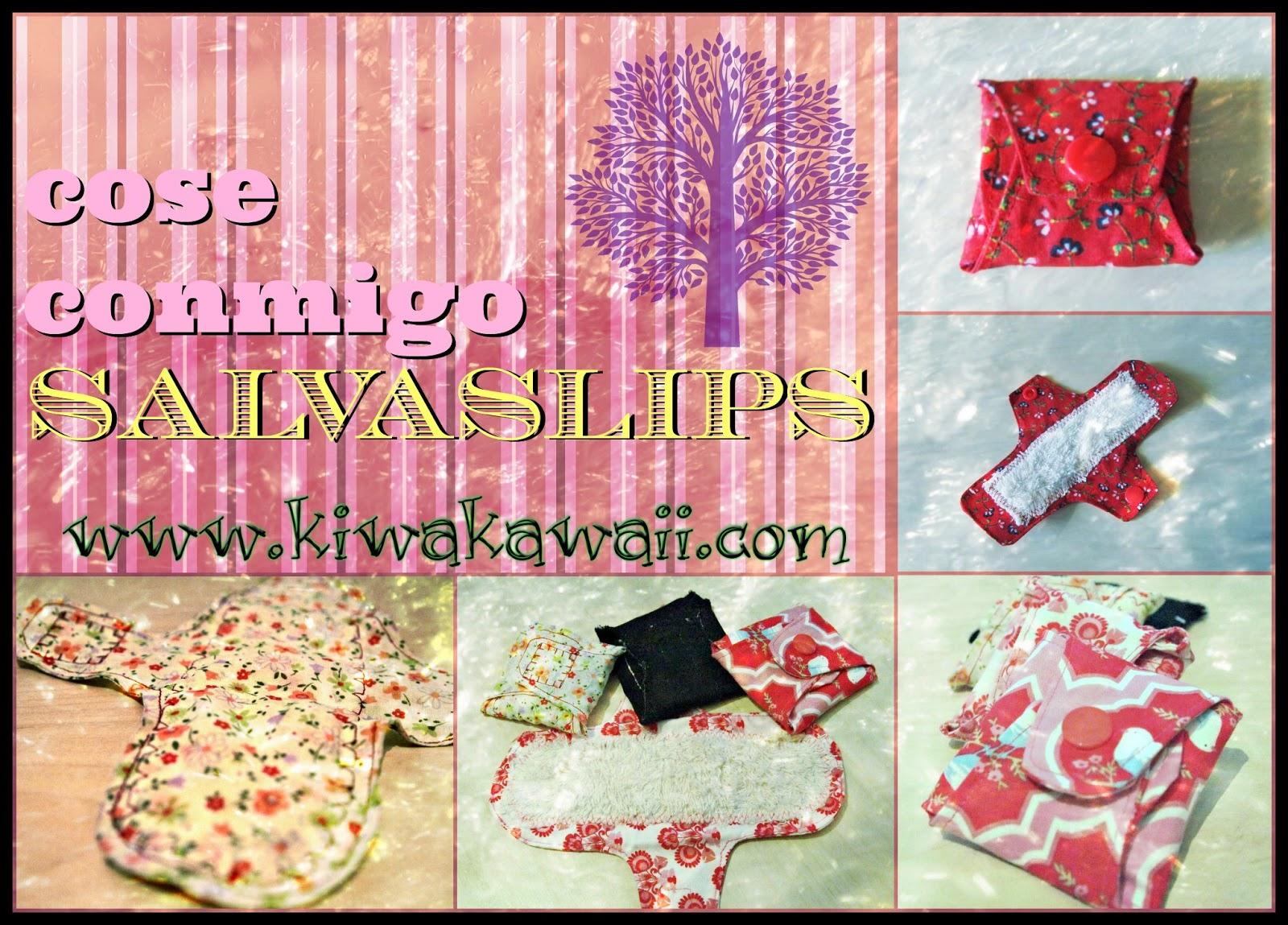 Día 4: Cose Conmigo salvaslips de tela! - Kiwa Kawaii