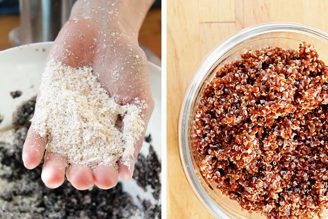 Oat Flour & Red Quinoa