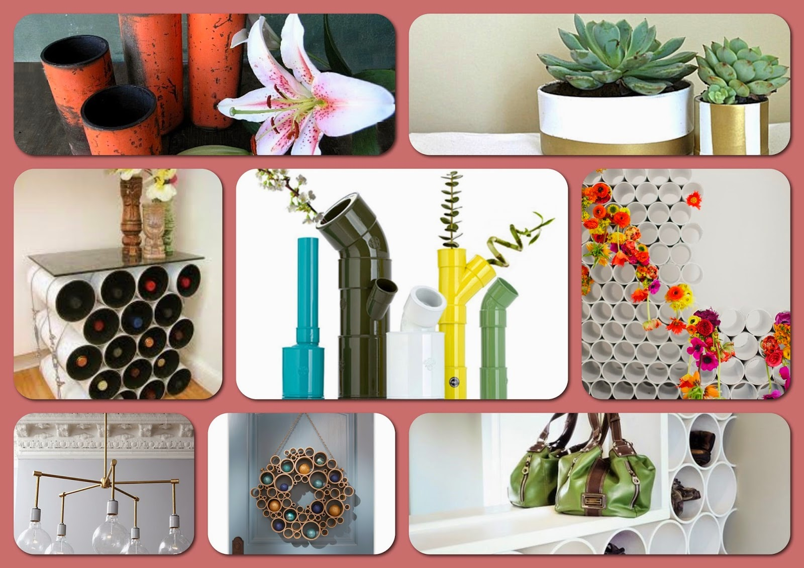 diy pipe projects for your home and garden interior design