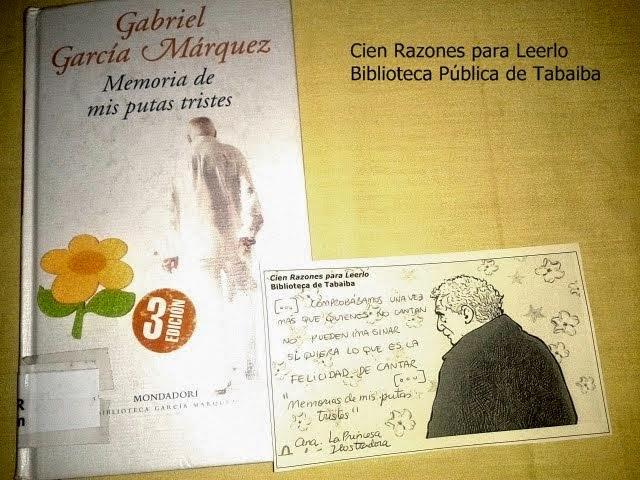 Tu frase de Gabriel García Márquez