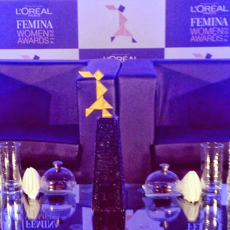 L'Oréal Paris - Femina Women Awards, 2014