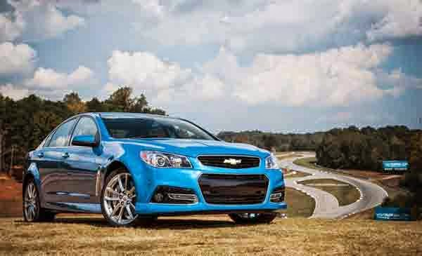 2015 Chevy Ss Sedan Blue