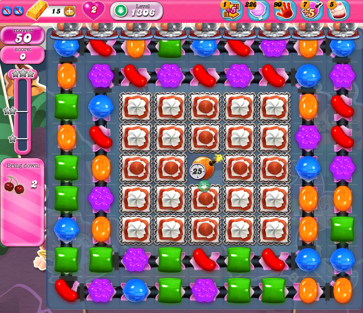 Candy Crush Saga 1306