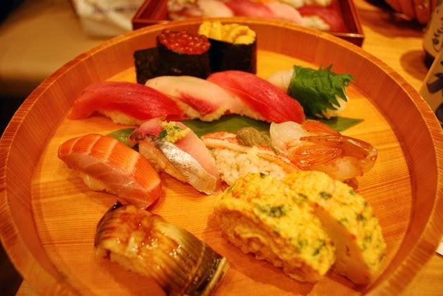 Sushi set. TokyoConsult. Tokyo Consult.