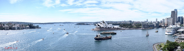 International Fleet day on Sydney Harbour. Photography by Kent Johnson.