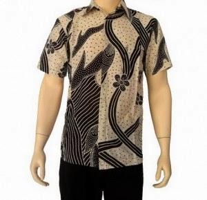 Foto Baju Batik Cowok Pekalongan