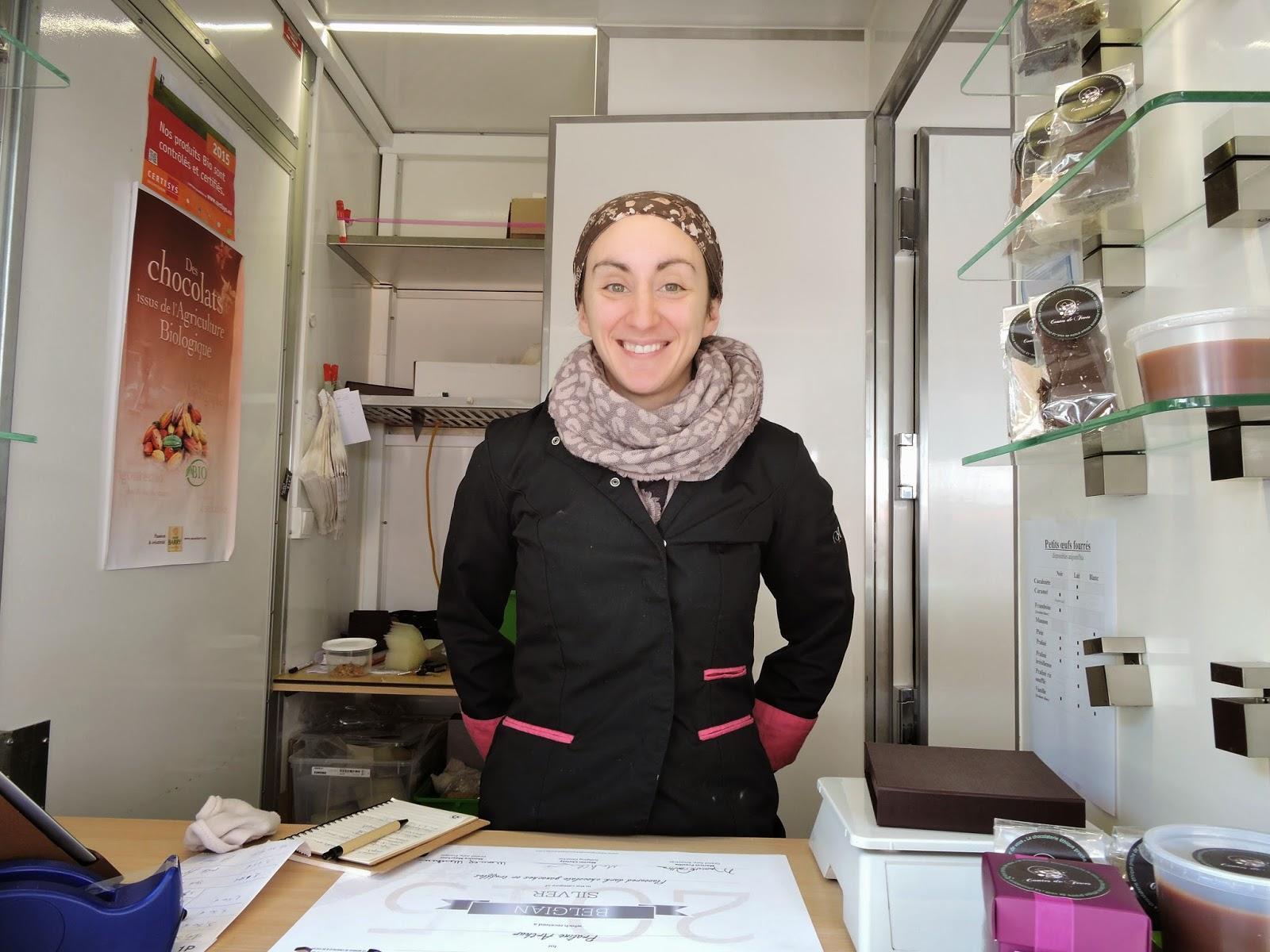 Céline Bouzegza, la chocolatière itinérante des Contes de fèves