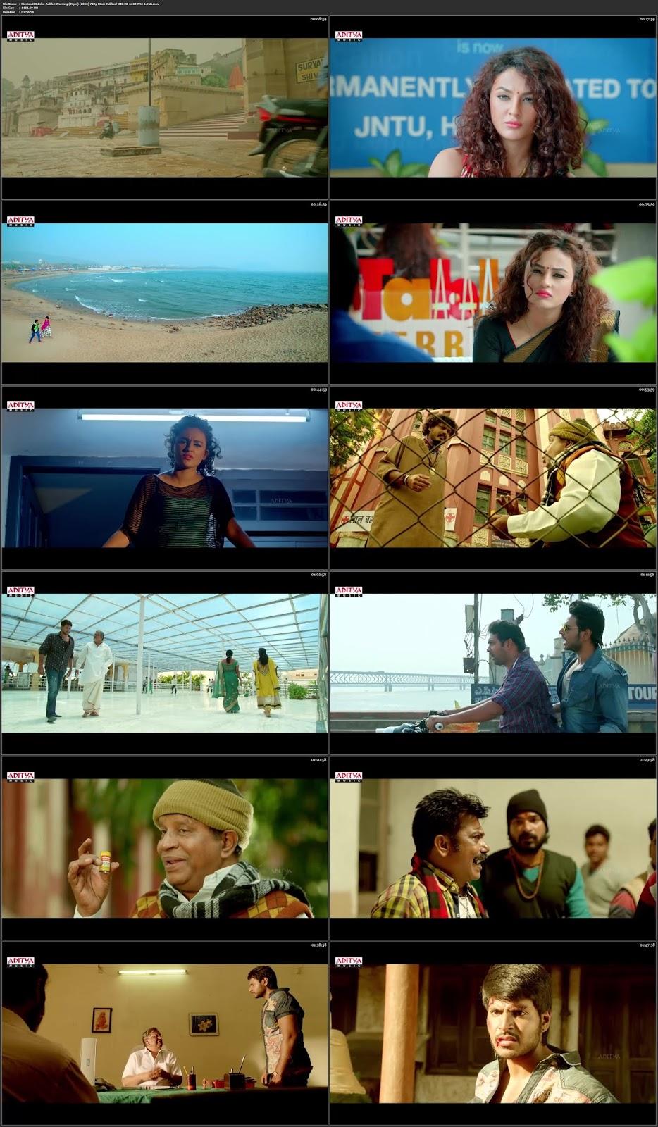 Aakhiri Warring (Tiger) 2018 Hindi Dubbed HDRip 720p