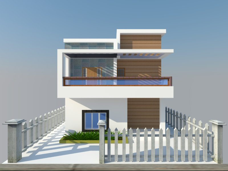 Sketchup model house plan