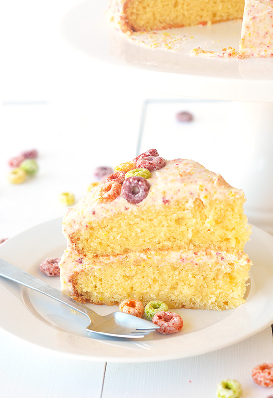 Cake With Fruit Loops : Blog: Fruit loop cereal and milk layer cake