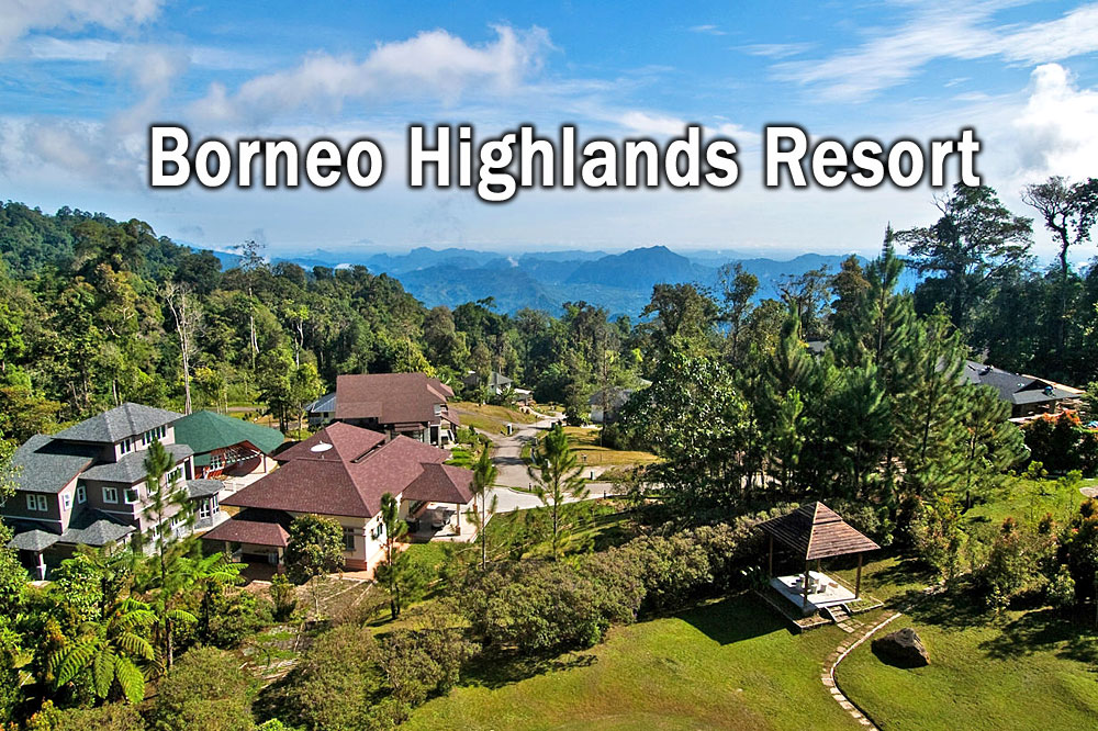 how to go to borneo highlands resort
