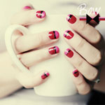 Bow Nails DIY