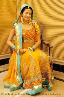 Mehndi-Bridal-Dress