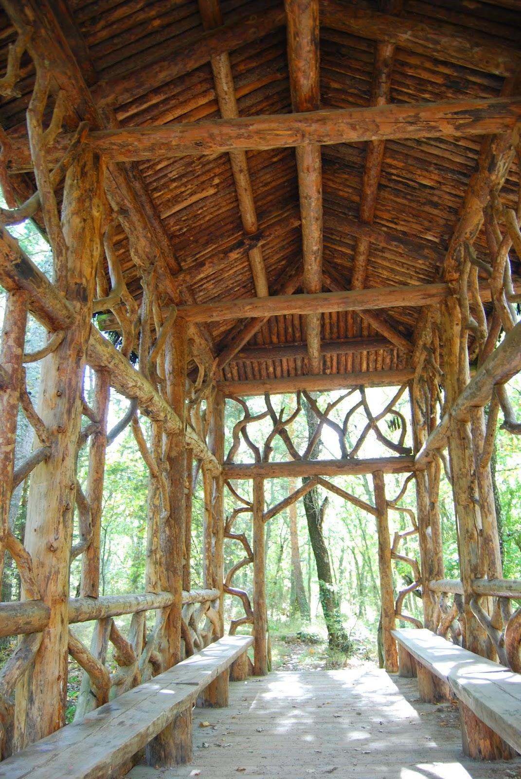 Cabaña en los jardines del Palacio de la granja de San Ildefonso