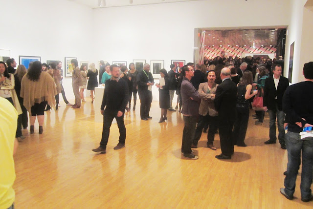 crowd at the MOCA Fresh Auction