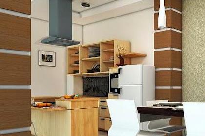 Konsep desain kitchen set minimalis untuk interior dapur