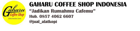 Jual Alat Kopi Manual Brewing Gaharu Coffee Shop